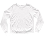 SUNDAY MORNING CREW SWEATSHIRT - WHITE