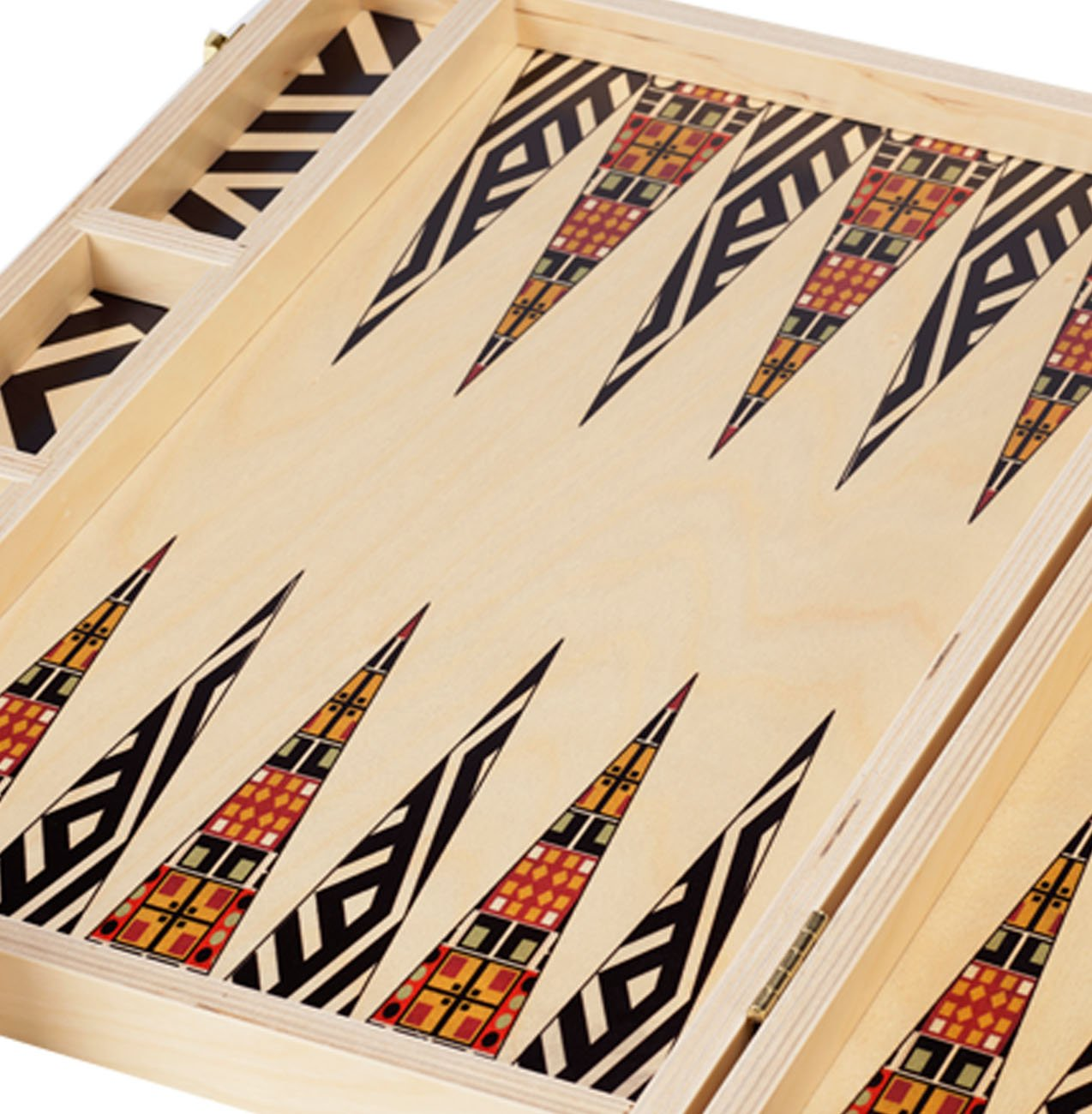 TABLE TOP BACKGAMMON SET - ALEXANDER BLACK