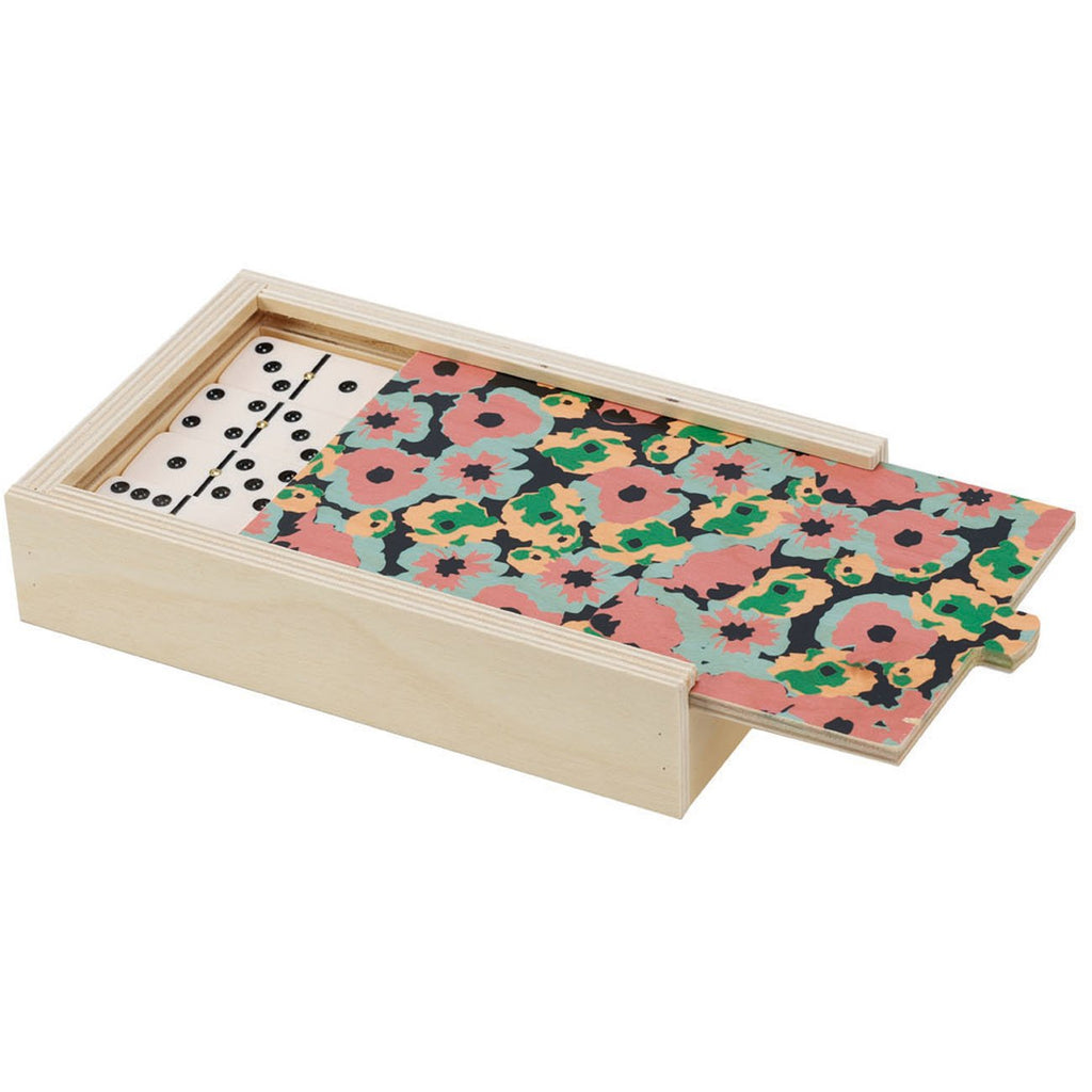 DOMINO SET - POPPY BLACK