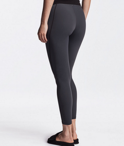 James Perse Y/OSEMITE Spiral Seam Legging in Charbon/Grey
