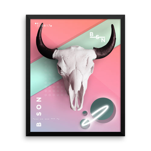 BISON (Framed)