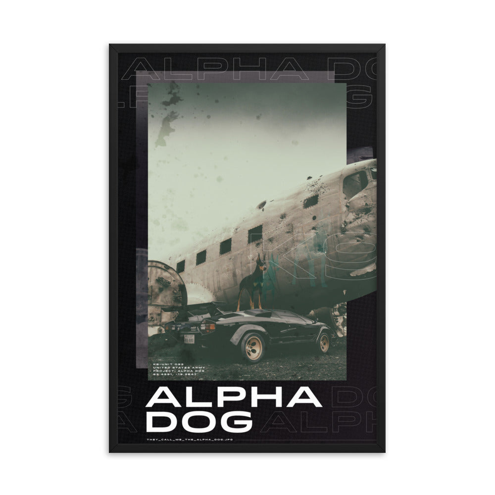 ALPHA DOG (Framed)