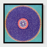 Mandala Unframed Canvas