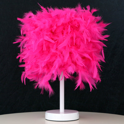 Fabulous Feather Lamp