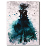 Colorful Dancer Unframed Print