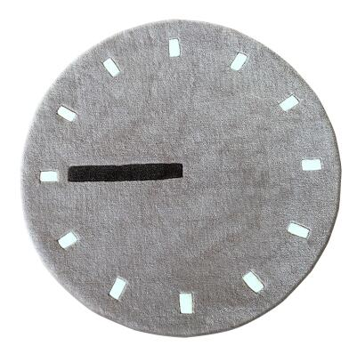 "Nordic Style ""Clock"" Rug"