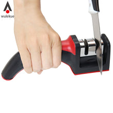Professional 2-Stage Knife Sharpener with Soft-Grip Handle