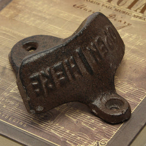 Iron Vintage Wall Mounted Bottle Opener