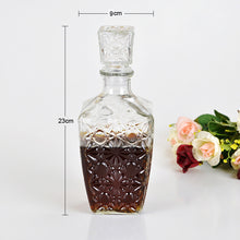 High-Quality Classic Crystal Decanter (250mL, 450mL, 1000mL)