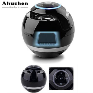 SALE - Abuzhen Bluetooth Speaker Mini Portable Wireless Speaker Soundbar Bass Boombox Sound box with Mic TF Card FM Radio LED Light (FREE SHIPPING)
