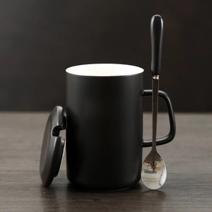 Modern Marvel Mugs with Spoon & Lid (Batman, Spiderman, Superman, Captain America, & More) 2