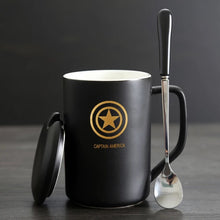 Modern Marvel Mugs with Spoon & Lid (Batman, Spiderman, Superman, Captain America, & More) 3