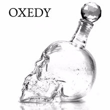 Crystal Skull Decanter (4 Sizes)