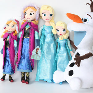 FREE SHIPPING - Disney Frozen Anna Elsa Cute Plush Doll Toys Girls Snow Queen Princess Birthday Gifts