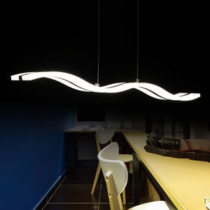 Artistic Modern Acrylic Ceiling Lights with Remote (Adjusts Color and Brightness) 1
