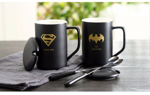 Modern Marvel Mugs with Spoon & Lid