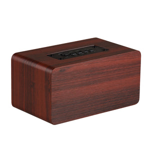 Wooden HiFi Shock Bass Bluetooth Speaker