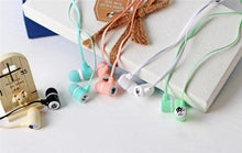 Cute Cat Wired Headphone Earbuds Music Headset Earphones For iPhone 6 Samsung with Carrier Case - FREE SHIPPING