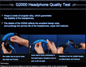 3.5mm Gaming Headset Gamer PC Headphones Stereo With Microphone Led - FREE SHIPPING