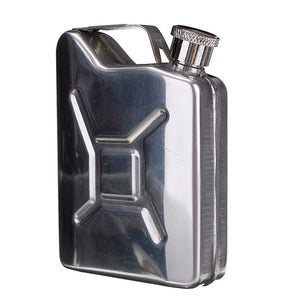 5oz Stainless Steel Gas Tank Flask with Funnel 3