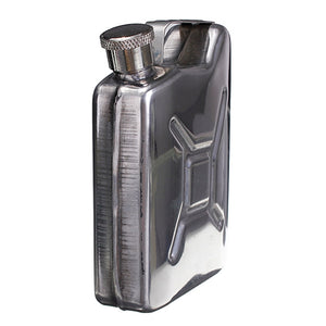 5oz Stainless Steel Gas Tank Flask with Funnel 4