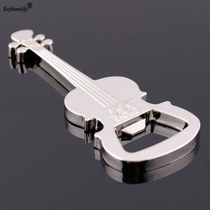 Zinc Alloy Bottle Opener Guitar