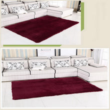 Non-Slip Soft Polyester Rug (13 different colors, 8 different sizes)