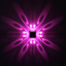 Modern Geometric Butterfly LED Wall Light (Multiple Colors)