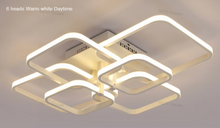 Modern Rounded-Squares LED Ceiling Light (3 Sizes)
