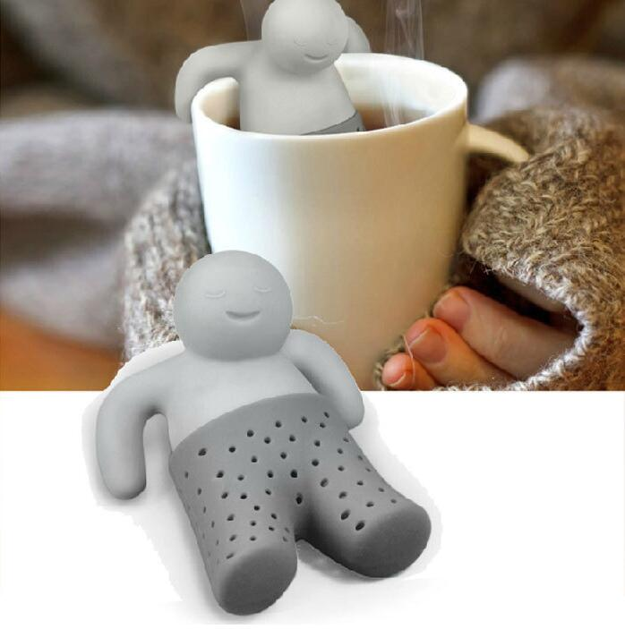 Mr. Tea Silicon Tea Infuser