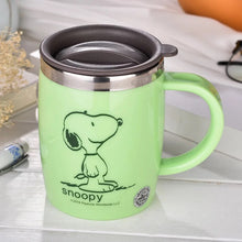 420mL Insulated Snoopy Tumbler Mug (with lid) 2