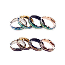 The Infinite Mystery Gold-Plated Zinc Mood Ring