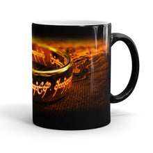 Lord of the Rings, One Ring to Rule Them All, Heat Revealing Ceramic Mug