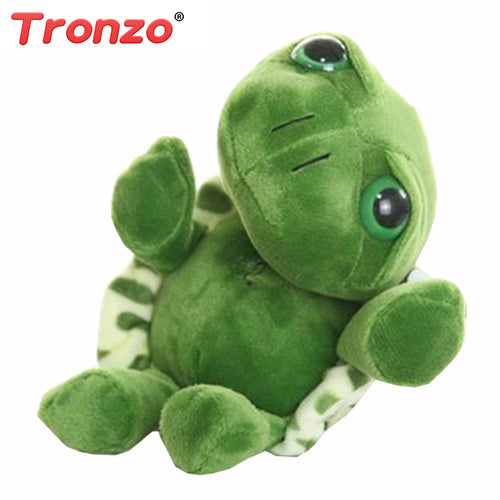Tronzo 20cm Super Green Big Eyes Stuffed Tortoise Turtle Animal Plush Baby Toy Birthday/Christmas Gift  For Kids (FREE SHIPPING)