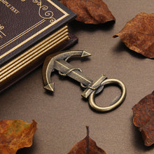 Vintage Anchor Zinc Alloy Bottle Opener