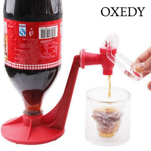 Upside Down 2-Liter Bottle Tap Dispenser