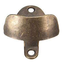 Wall-Mounted Bronze Bottle Opener