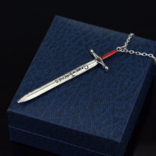 Game Of Thrones Sword Pendant / Letter Opener (necklace included)