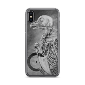 "Original OXEDY artwork ""bare bones"" Painting iPhone Cases (Multiple Colors)"