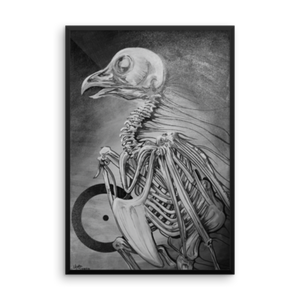 """bare bones"" by Oksana Samarskiy Posters (multiple sizes and mediums available)"