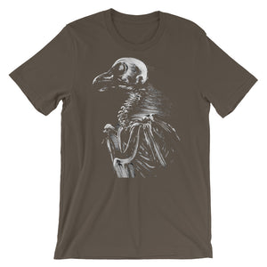 "Gray ""bare bones"" Bella + Canvas 3001 Unisex Short Sleeve Jersey T-Shirt with (multiple shirt colors available)"