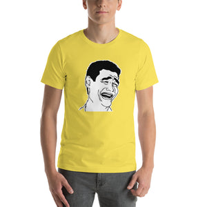 Yao Ming Bitch Please Meme Short-Sleeve Unisex T-Shirt
