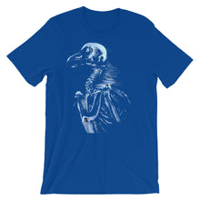 "Blue ""bare bones"" Bella + Canvas 3001 Unisex Short Sleeve Jersey T-Shirt with (multiple shirt colors available)"
