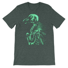 "Green ""bare bones"" Bella + Canvas 3001 Unisex Short Sleeve Jersey T-Shirt with (multiple shirt colors available)"