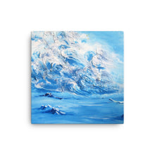 """Salt & Air"" by Oksana Samarskiy Canvas Print"