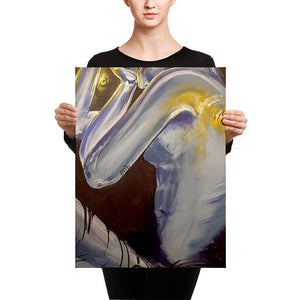 """2"" by Oksana Samarskiy Canvas Print"