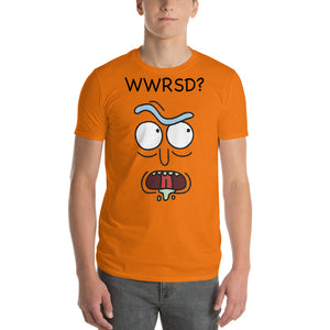 WWRSD, What Would Rick Sanchez Do? Rick and Morty Unisex Short Sleeve Shirt