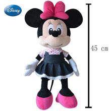 Genuine Quality Disney Mickey Minnie Pooh Stitch Stuffed Plush Dolls Toys for Boys Girls Kids Children Birthday Christmas Gift