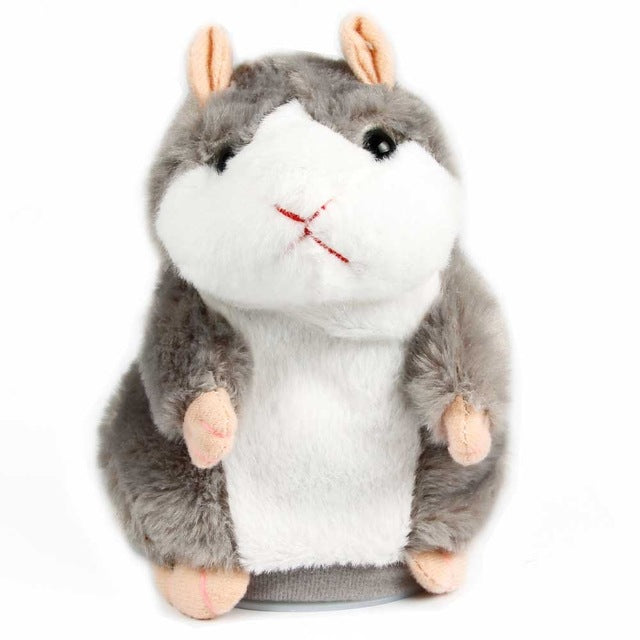 Repeat-After-Me Mr. Hamster Talking Toy Pet