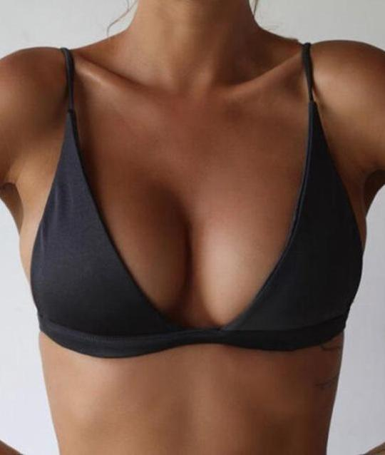Modern Summer Padded Push-Up Bikini Top